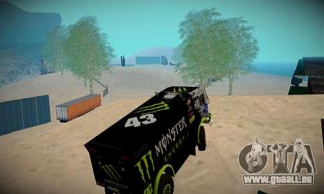 Piste off-road pour GTA San Andreas deuxième écran