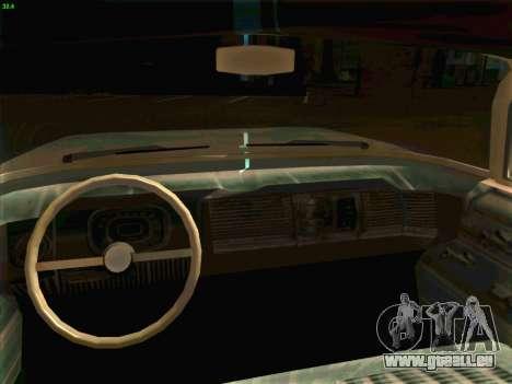 Cadillac Stella 1959 für GTA San Andreas Rückansicht