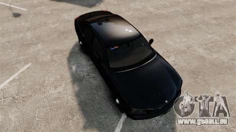 Dodge Charger Slicktop Police [ELS] pour GTA 4 est un droit