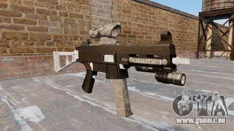 Le pistolet mitrailleur, UMP45 pour GTA 4
