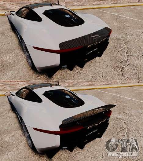 Jaguar C-X75 [EPM] Carbon Series für GTA 4 obere Ansicht