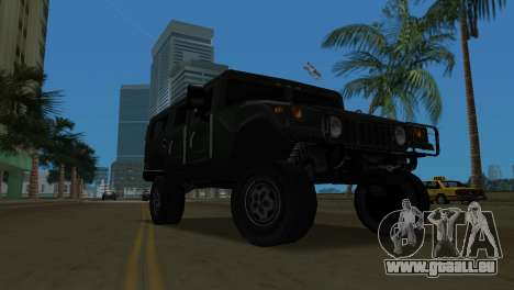 Hummer H1 Wagon für GTA Vice City linke Ansicht