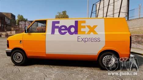 Brute Pony FedEx Express pour GTA 4 est une gauche