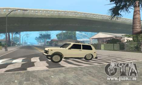 VAZ 21214 Avtosh für GTA San Andreas Rückansicht