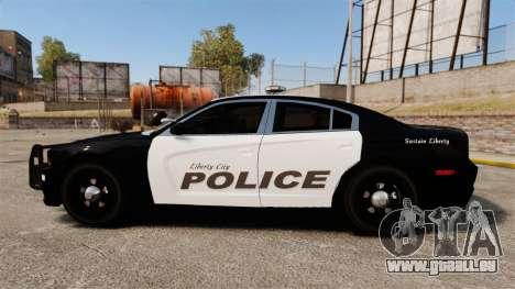 Dodge Charger 2013 LCPD [ELS] für GTA 4 linke Ansicht
