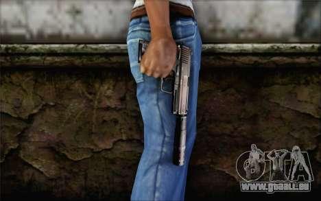 G17 pistol für GTA San Andreas dritten Screenshot