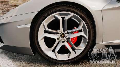 Lamborghini Aventador LP700-4 2012 [EPM] v1.1 pour GTA 4 Vue arrière