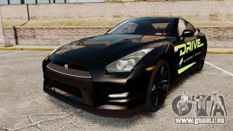 Nissan GT-R Black Edition 2012 Drive für GTA 4