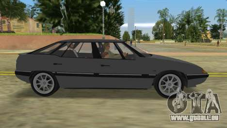 Citroen XM pour GTA Vice City sur la vue arrière gauche