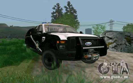 Ford F-250 Bone County Ultimate Response pour GTA San Andreas