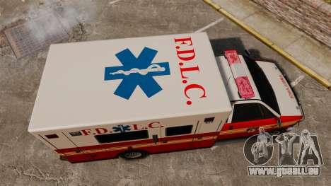 Brute FDLC Ambulance für GTA 4 rechte Ansicht