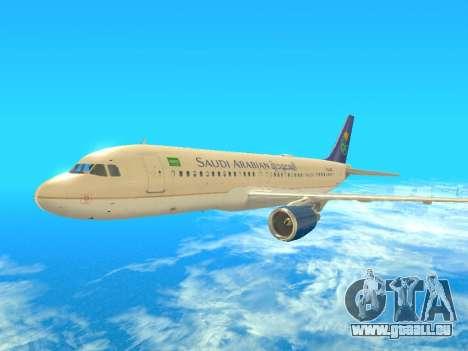 Airbus A320-200 Saudi Arabian für GTA San Andreas