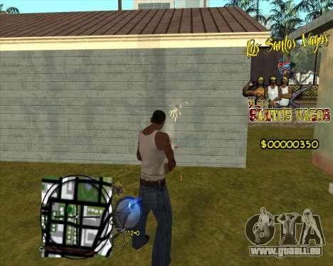 C-HUD LSVG für GTA San Andreas