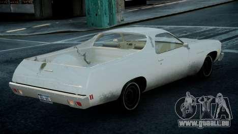 Chevrolet El Camino 1973 Old pour GTA 4 est une gauche