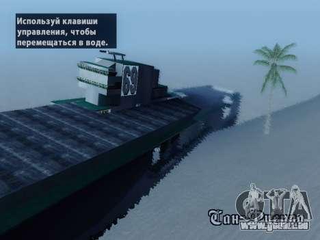 Épave pour GTA San Andreas deuxième écran