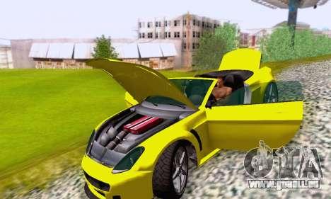 GTA V Rapid GT Cabrio pour GTA San Andreas roue