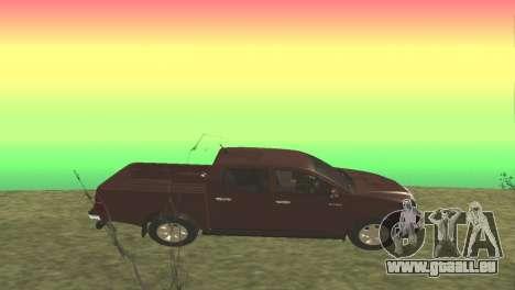 Toyota Hilux 2014 pour GTA San Andreas laissé vue