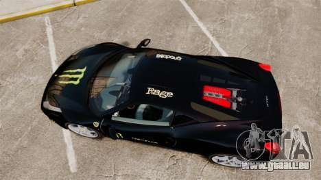Ferrari 458 Italia 2010 Monster Energy pour GTA 4 est un droit