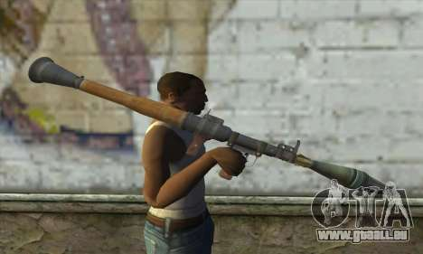Rocket launcher für GTA San Andreas dritten Screenshot