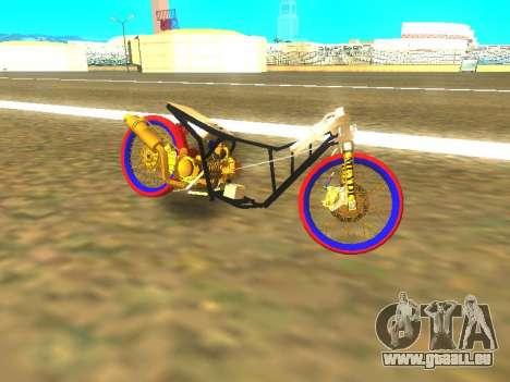 Drag Mio Full GOLD für GTA San Andreas