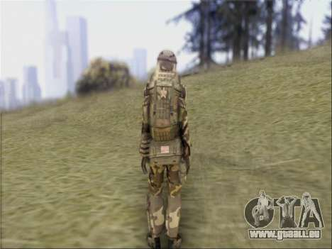 Les soldats De La République populaire De Chine pour GTA San Andreas quatrième écran