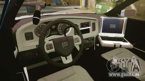 Dodge Charger 2011 LCPD [ELS] pour GTA 4 Vue arrière