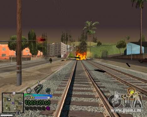 Blick aus der ersten person für GTA San Andreas