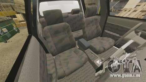 Toyota Hilux Police Western Australia pour GTA 4 est une vue de l'intérieur