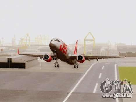 Boeing 737-800 Jet2 für GTA San Andreas linke Ansicht