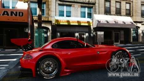 BMW Z4 GT3 2012 für GTA 4 linke Ansicht