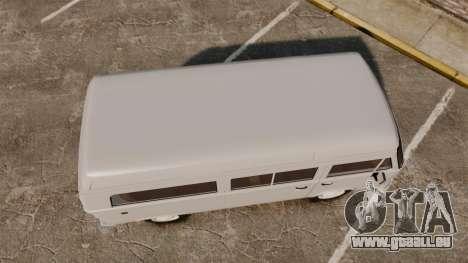 Volkswagen Kombi 1999 pour GTA 4 est un droit