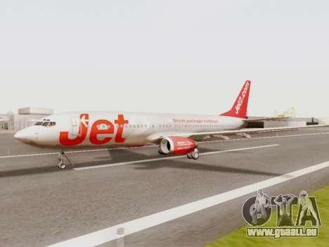 Boeing 737-800 Jet2 für GTA San Andreas