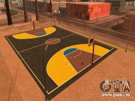 Neuer Basketballplatz für GTA San Andreas fünften Screenshot