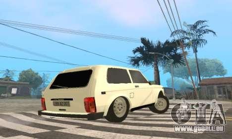 VAZ 21214 Avtosh für GTA San Andreas rechten Ansicht