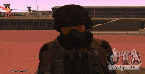 Global Defense Initiative Soldier pour GTA San Andreas