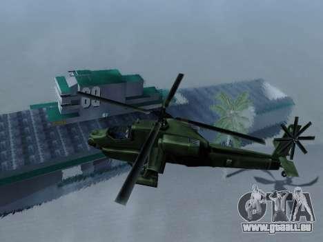Épave pour GTA San Andreas troisième écran