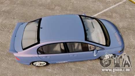 Honda Civic Si 2008 für GTA 4 rechte Ansicht