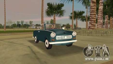 Trabant 601 Custom pour une vue GTA Vice City de la gauche