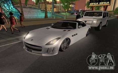Benefactor Surano GTA V pour GTA San Andreas