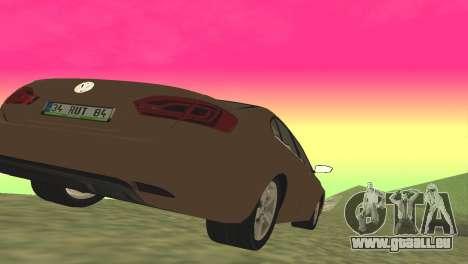 Volkswagen Jetta 1.4 2013 TSI Highline pour GTA San Andreas sur la vue arrière gauche