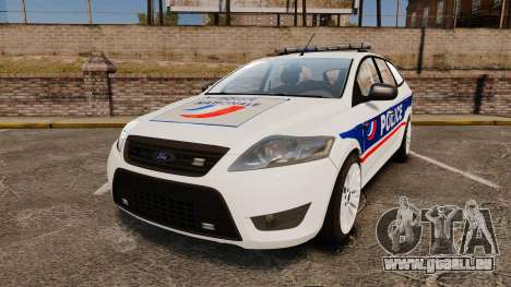 Ford Mondeo IV Wagon Police Nationale [ELS] pour GTA 4