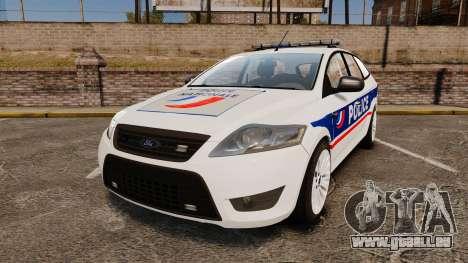 Ford Mondeo IV Wagon Police Nationale [ELS] für GTA 4