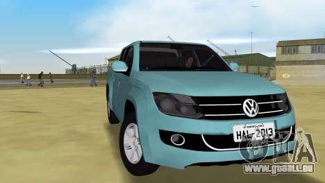 Volkswagen Amarok 2.0 TDi AWD Trendline 2012 pour une vue GTA Vice City de la droite