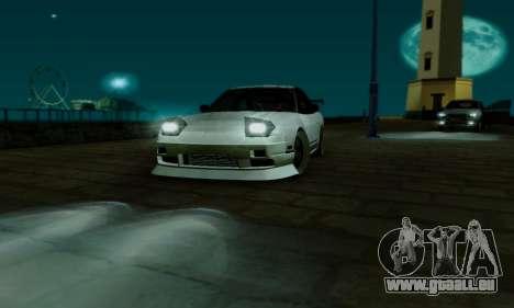 Nissan SX 240 pour GTA San Andreas vue de côté