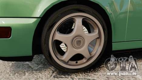 Porsche 911 Speedster pour GTA 4 Vue arrière