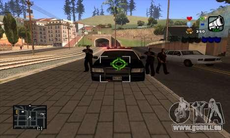 C-HUD Lite pour GTA San Andreas cinquième écran