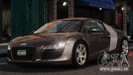 Audi R8 v1.1 pour GTA 4