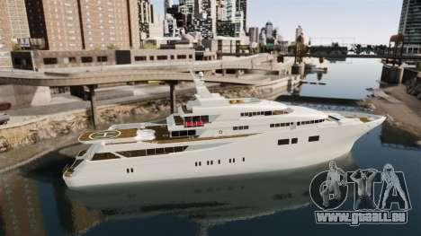 Plein de yacht pour GTA 4 est une gauche