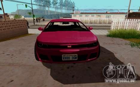 Dinka Blista GTA V für GTA San Andreas linke Ansicht