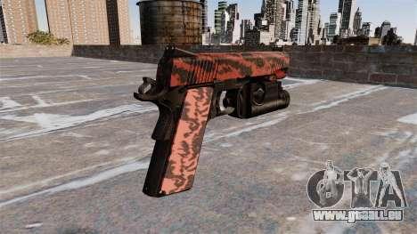 Halb-automatische Pistole Kimber für GTA 4 Sekunden Bildschirm